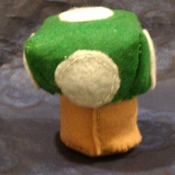 Super Mario inspired 1-UP Mushroom (Back)