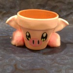 Pink Piggy Starter Pot