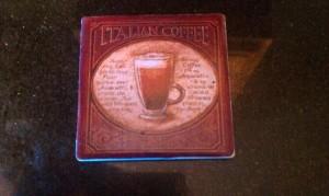 Italian Coffee Coster