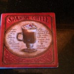 Spanish Coffee Coster