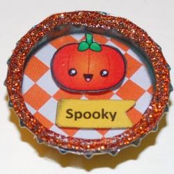 Kawaii Spooky Halloween Pumpkin