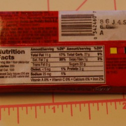 Unopen Kit Kat Bar Charm (Back)