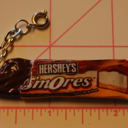 Bitten Hershey's S'mOres Candy Bar Charm