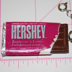 Open Hershey's Rasberry Bar Charm