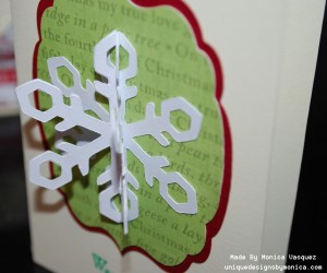 3D Snow Flake Side
