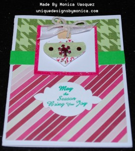 homas Ornament Card Front