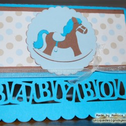 Rocking Horse Baby Card4