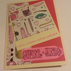 Polaroid Card - Girly Girl