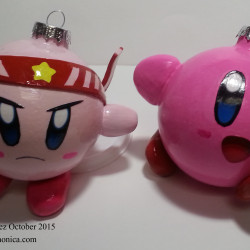 Made by Monica Vasquez October 2015 Kirby Fighter & Orignal