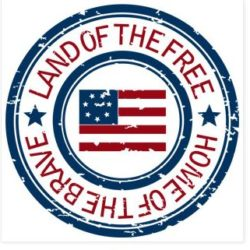 Land of the Free logo