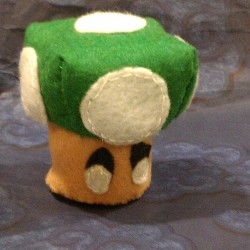 Super Mario inspired 1-UP Mushroom