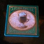 Irish Coffee Coaster
