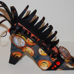 Halloween Witches Shoe (right)