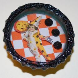 Vintage Halloween Clown