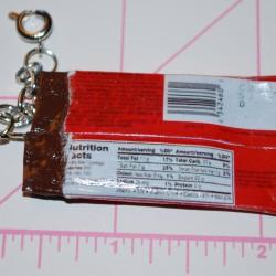 Open Kit Kat Candy Bar Charm (Back)
