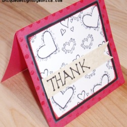 Thank You - Hearts (right)